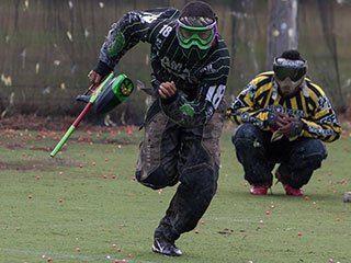 EPL South Paintball Player